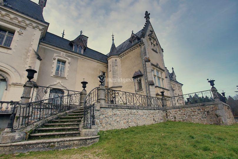 L'arrière du Château