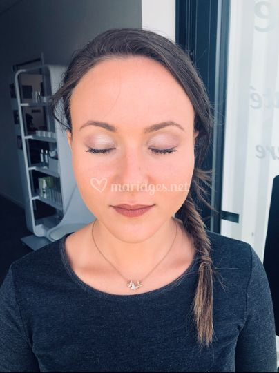 Maquillage témoin mariage