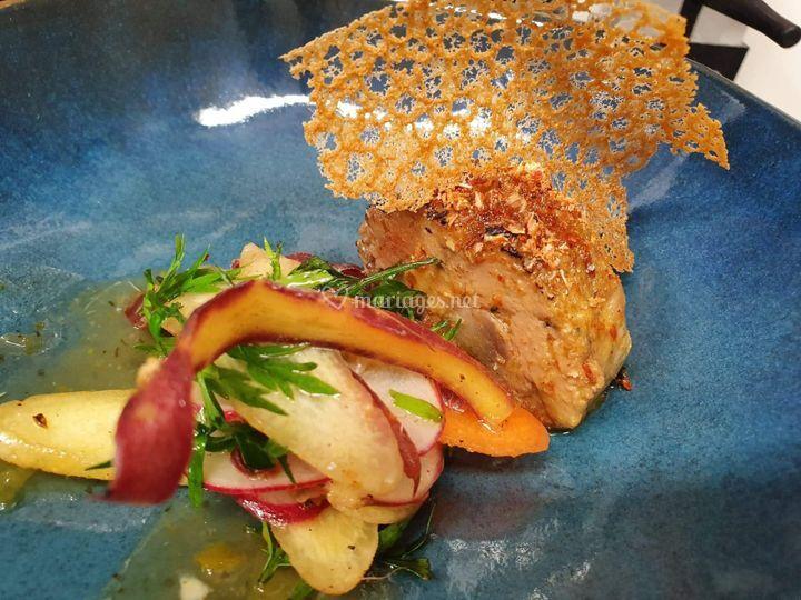 Foie gras à l'Espelette