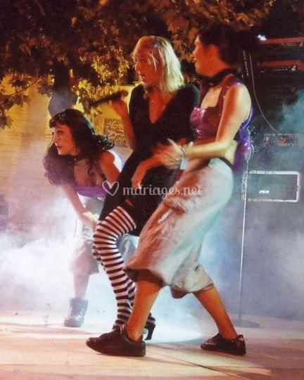 Lilas circus et danseuses