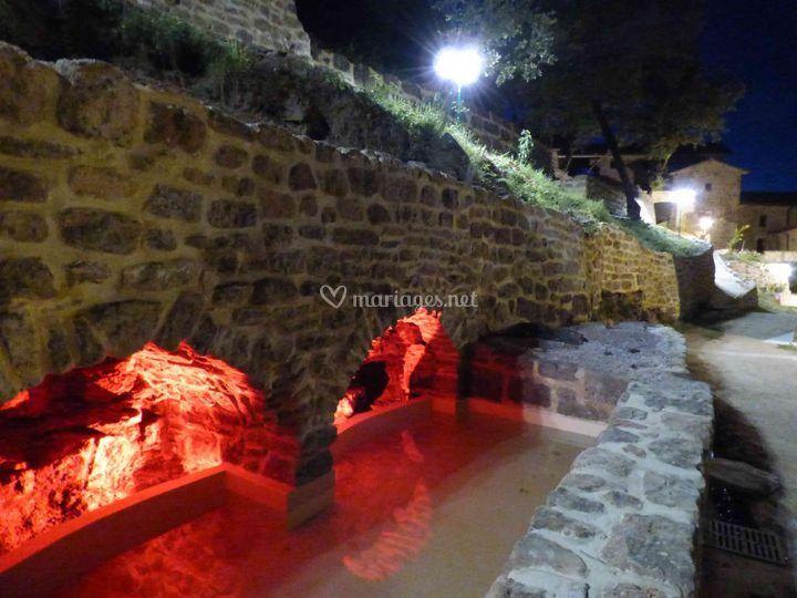 Le bassin la nuit