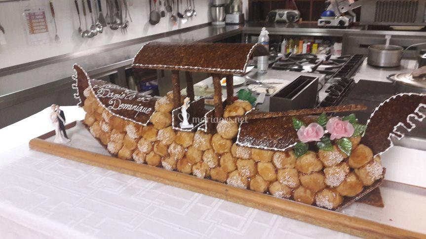 Gâteau des mariès