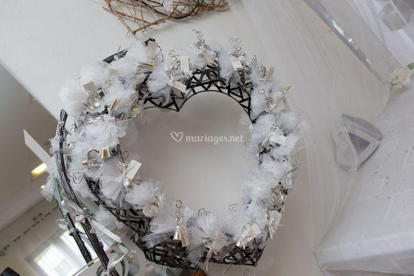Decoration des mariés