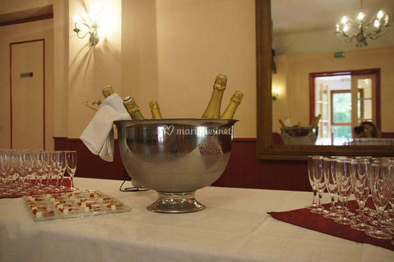 Cocktails et vin d'honneurs