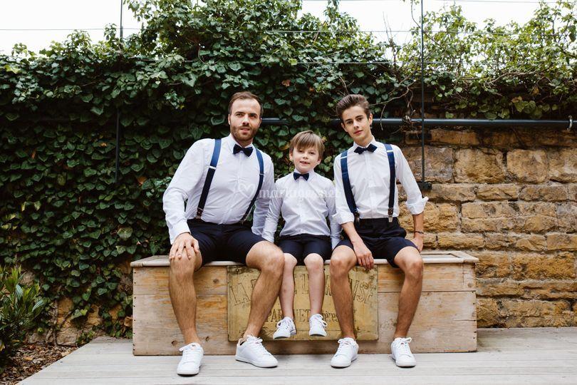Marié et  enfants
