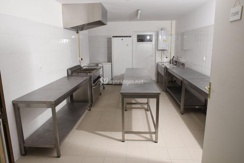 La cuisine de la salle