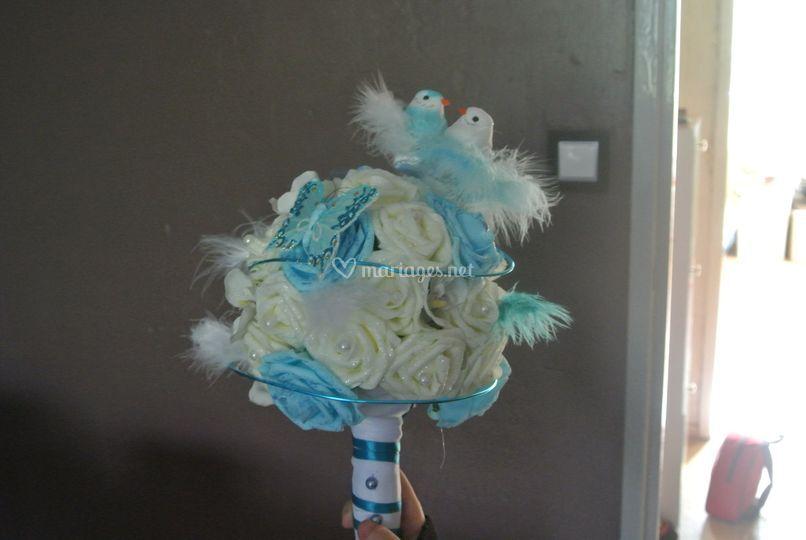 Bouquet mariée sur mesure