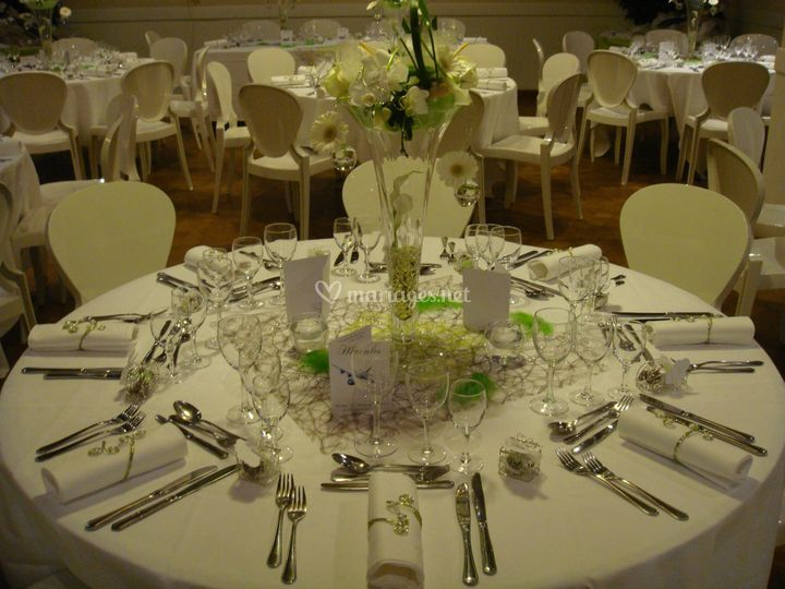Décoration de table florale