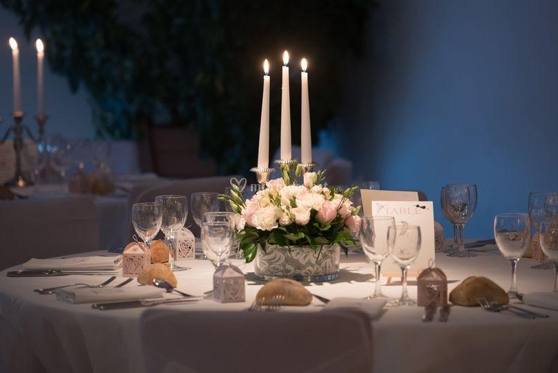 Les bougies de mariage