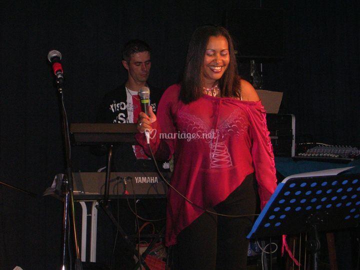 Fabienne en concert