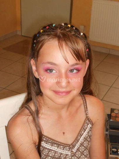 Maquillage demoiselle d'honneur