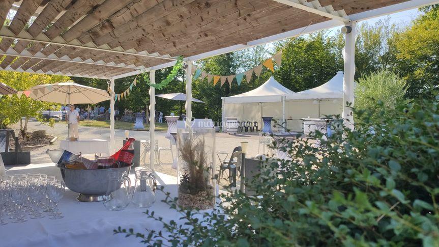 Terrasse Garenne du Gour