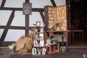 Décoration de Mariage Vintage en Alsace