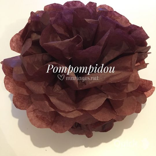 Pompon chocolat