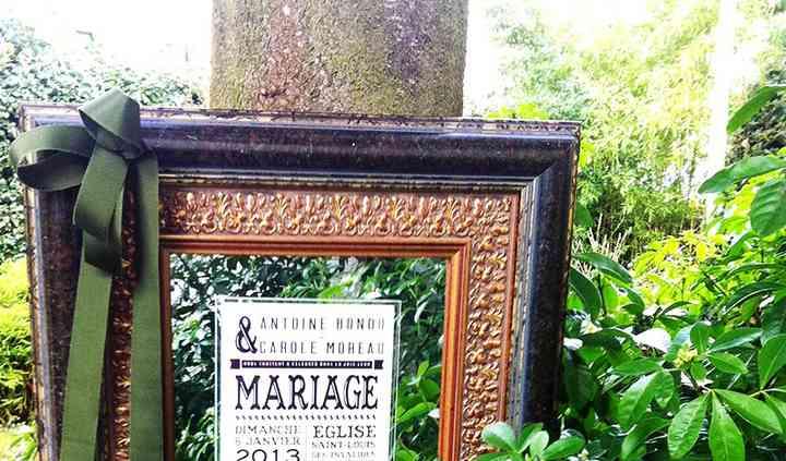 Faire-Part Mariage Plexiglas