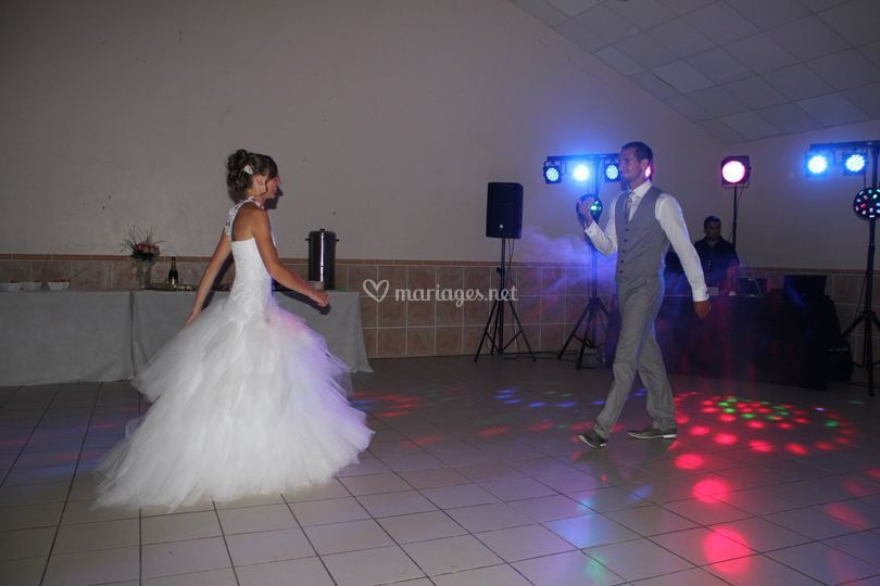 Mariage ouverture bal