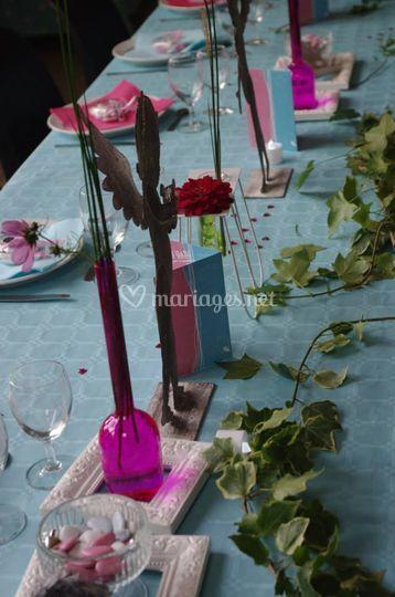 Détail table d'honneur