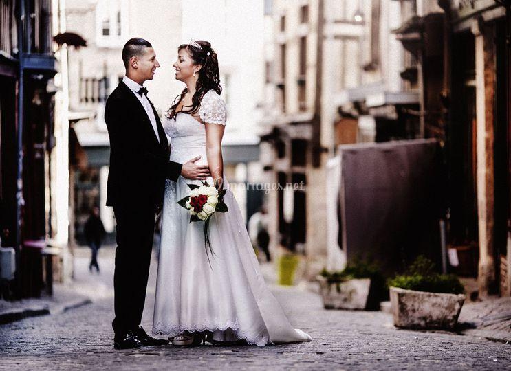 Portrait Mariage en ville