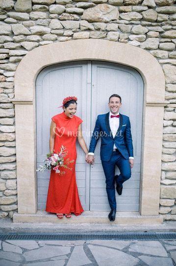 Mariage en couleur