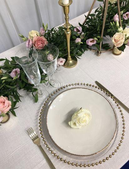 Champêtre chic wedding