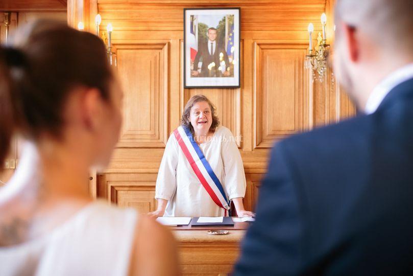 Mariage mairie Paris XIIIème