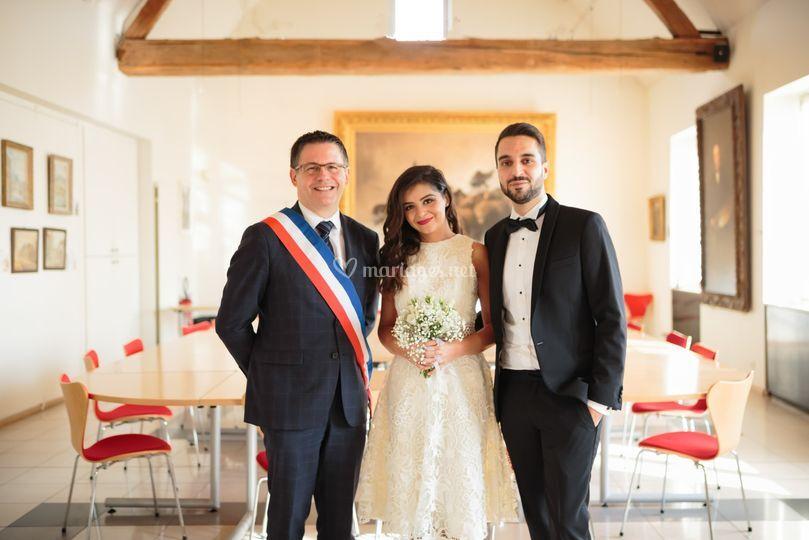 Mariage mairie Écouen