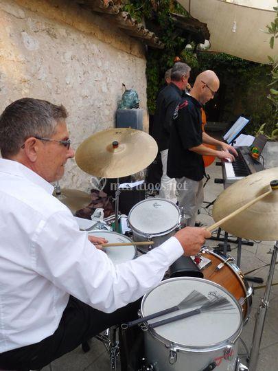 Quartet avec batterie