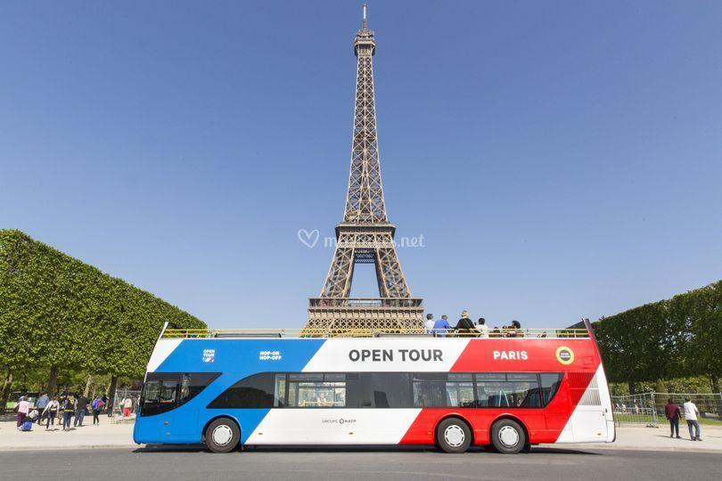 Open Tour Paris