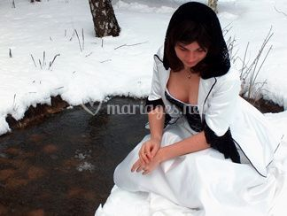 Mariée venue du froid