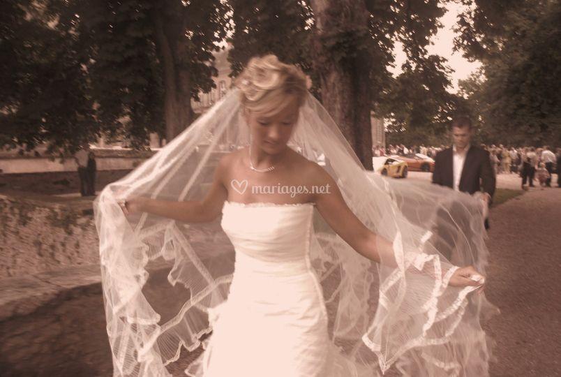 Traîne de mariée