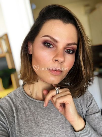 Maquillage du soir (brune)