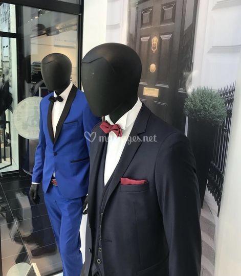 Costume Lagerfeld et Lorenzo