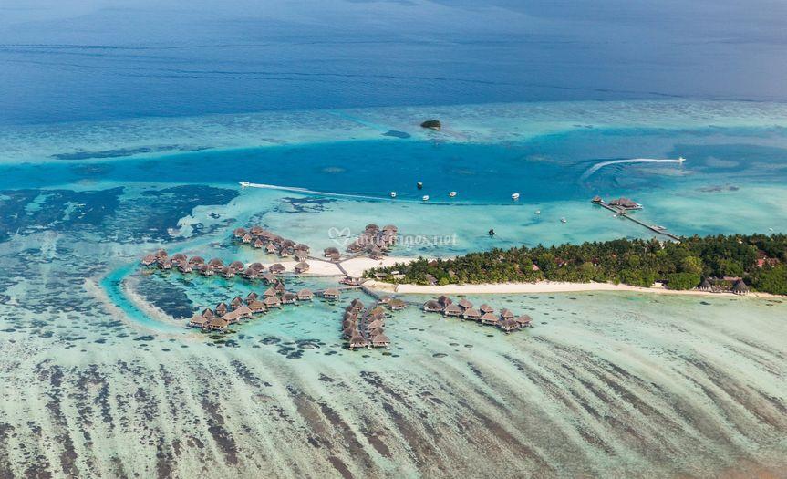 Maldives voyage sur pilotis