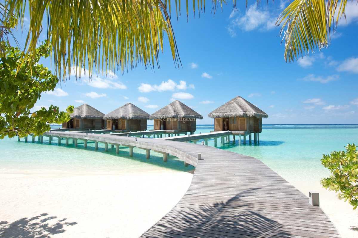 Maldives, merveilleux pilotis