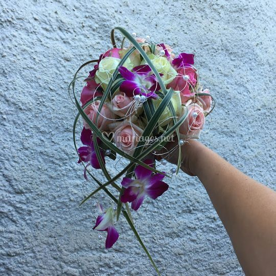 Bouquet de mariée dindro