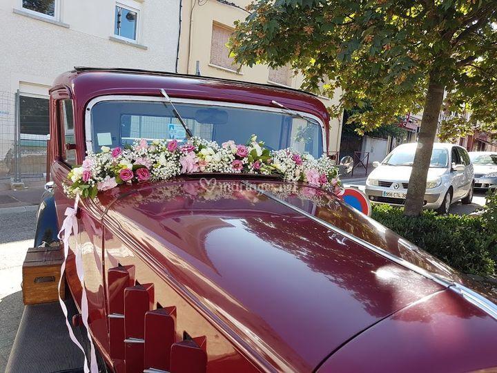 Guirlande voiture