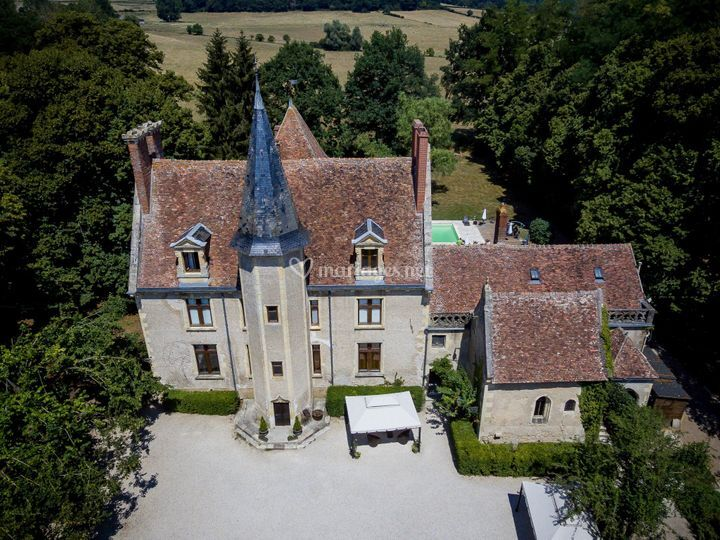 Château et ses environs