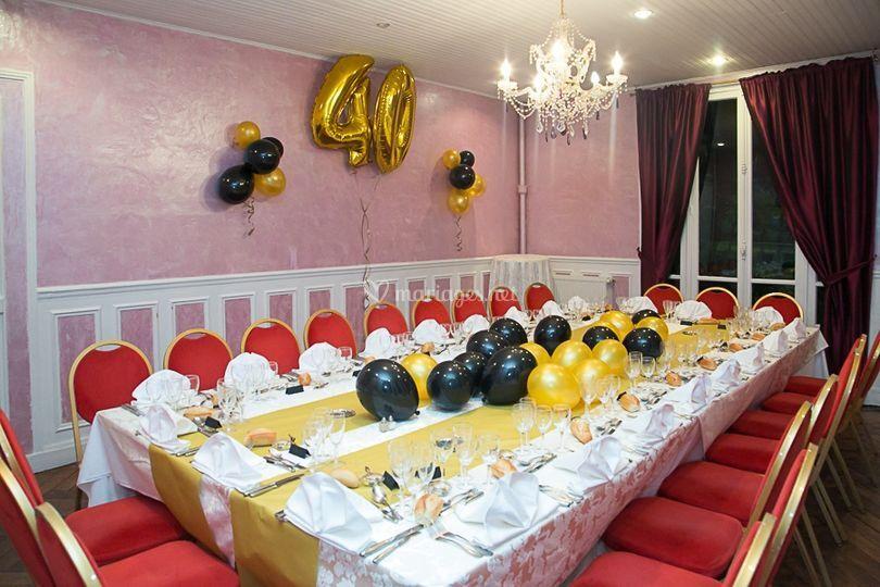 Salle Pavillon anniversaire
