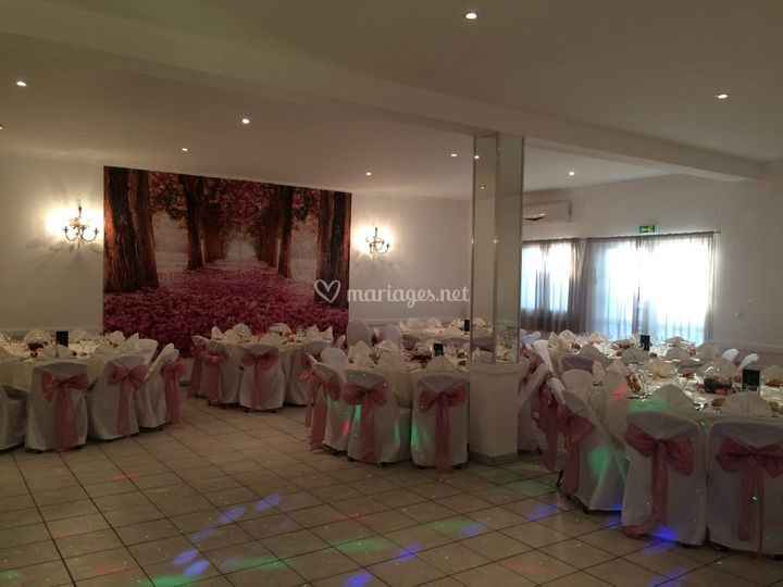 Salle Michelet mariage rose