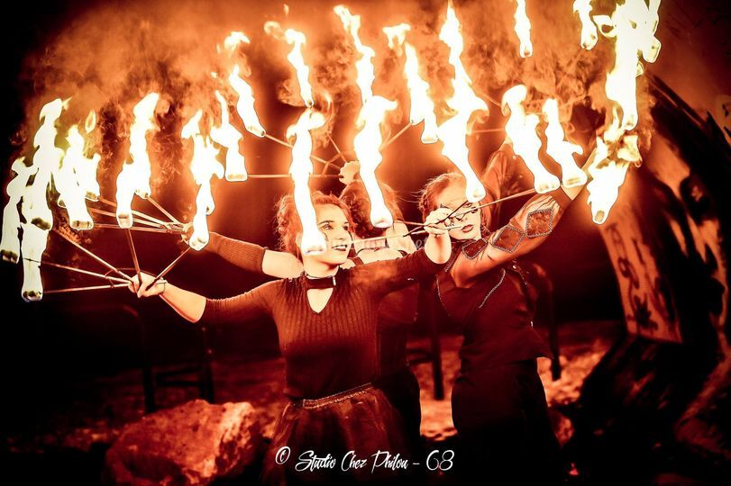 Danse enflammée