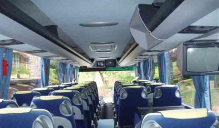 Intérieur autocar