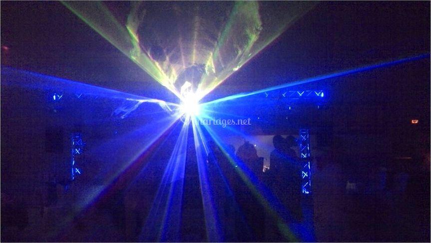 Laser couleur 1w