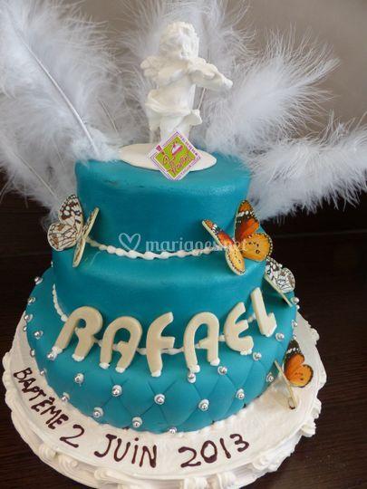 Wedding cake baptême