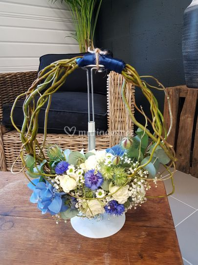 Bouquet de mariée en liane