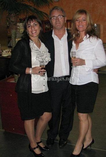 Daniel, Katy et Lucie