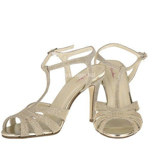 Annabel sandale Gold