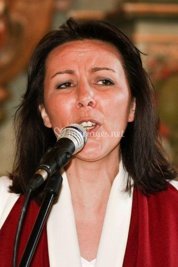Chanteuse du groupe