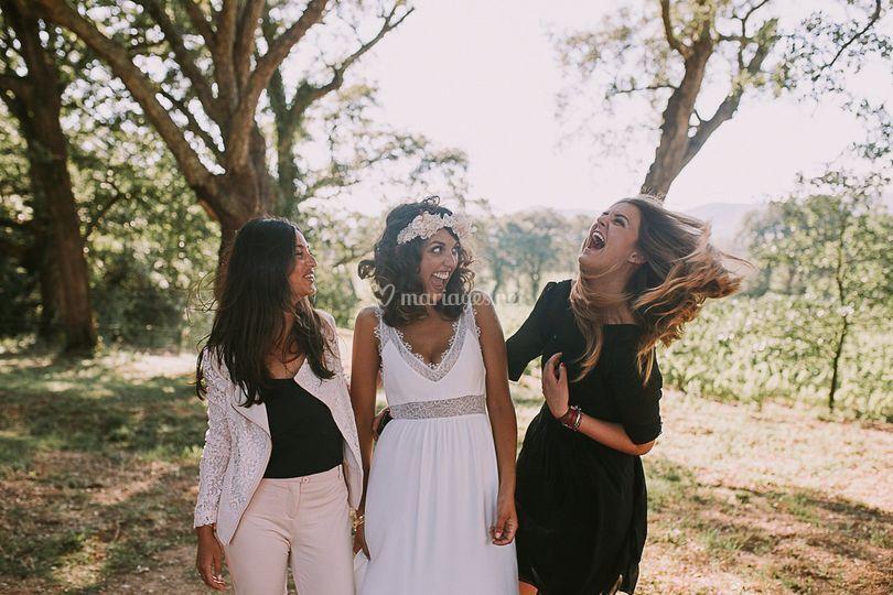 Copines de la mariés