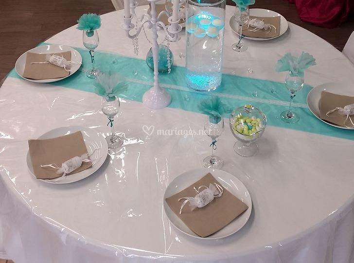 Décoration de table de Déclic Mariage et Fête  Photos