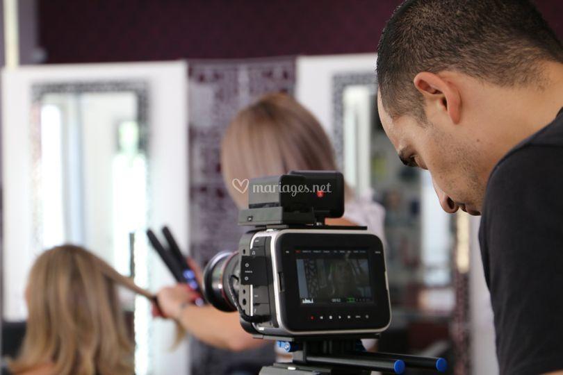 Tournage production cinéma